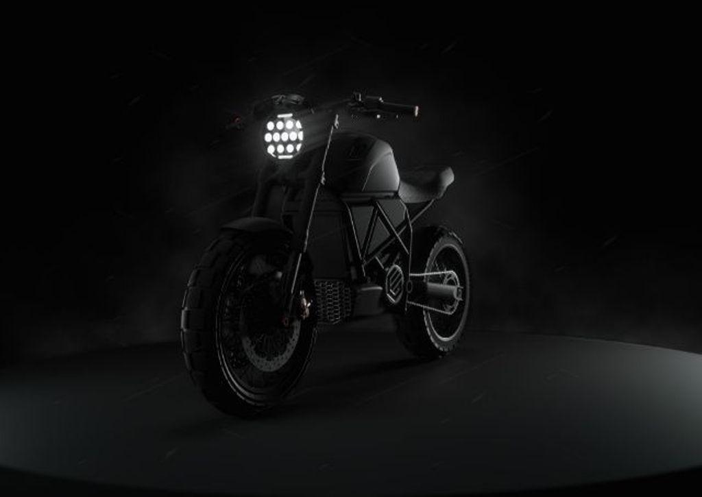Прототип электробайка ScrAmper