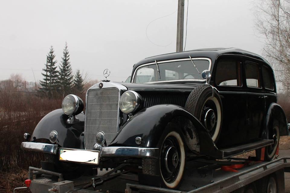 Mercedes-Benz 230 1938 года