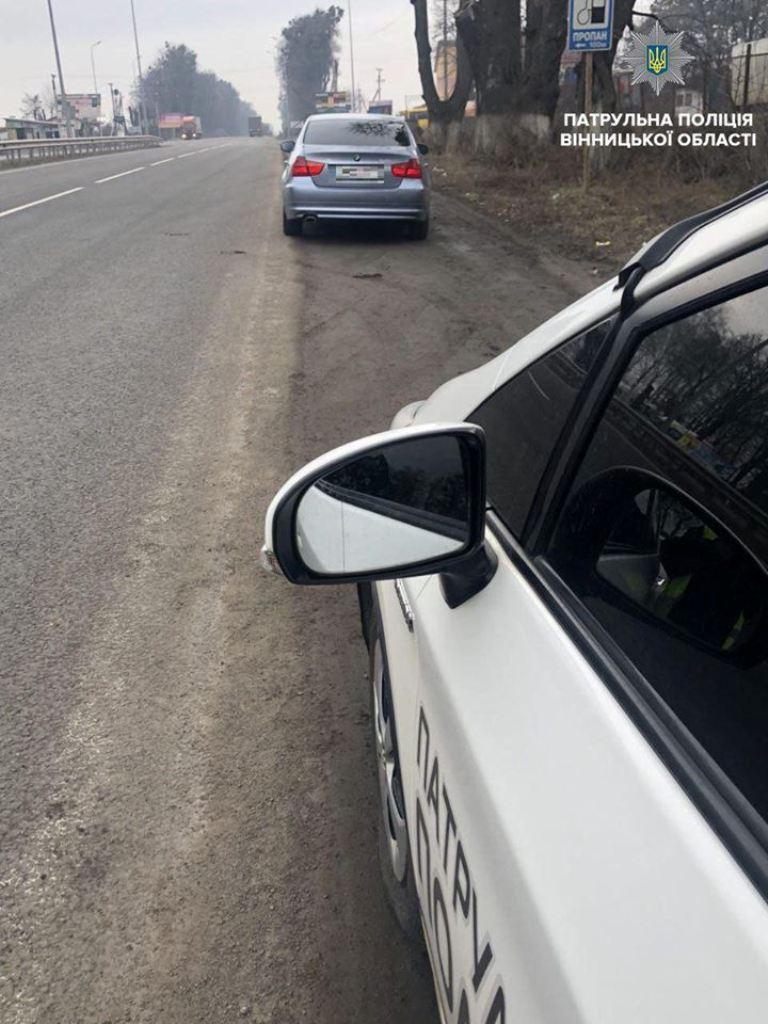 Пьяный водитель превысил допустимую скорость