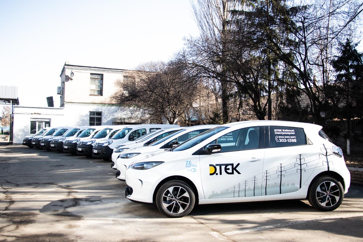 Автопарк предприятия пополнился 11 электромобилями