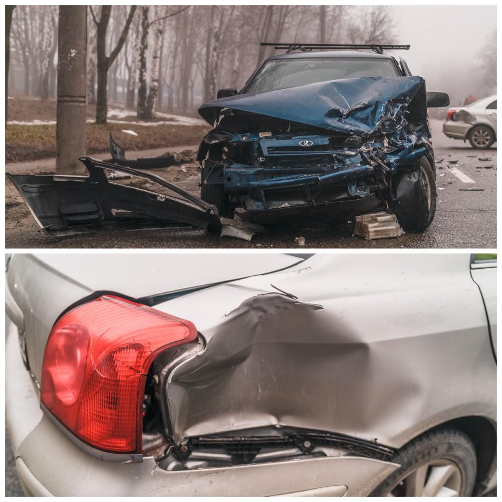 В результате аварии оба водителя получили переломы ног