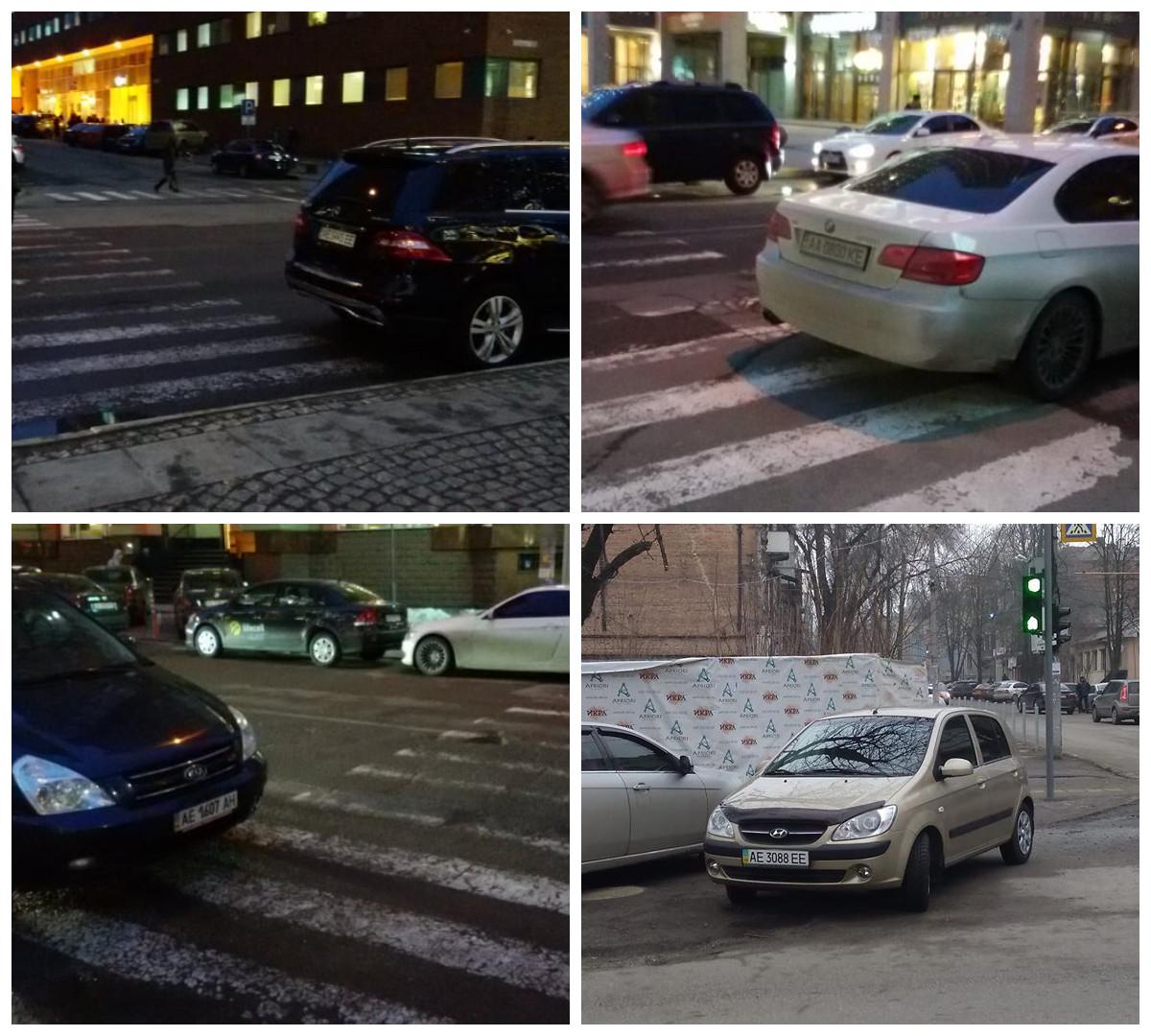 За нарушение правил парковки водителям грозит штраф от 255 гривен