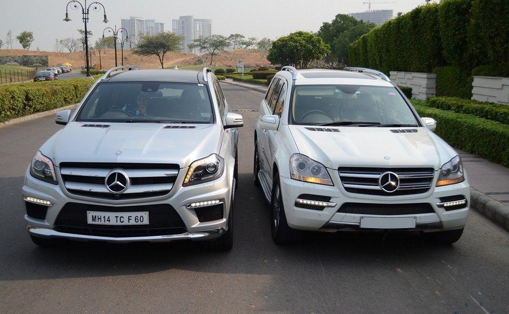 Mercedes-Benz GL 500 (2007) и Mercedes-Benz GL 350 CDI (2013)