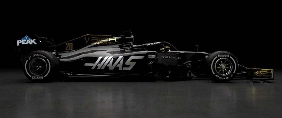 Команда Haas показала новый болид на сезон 2019