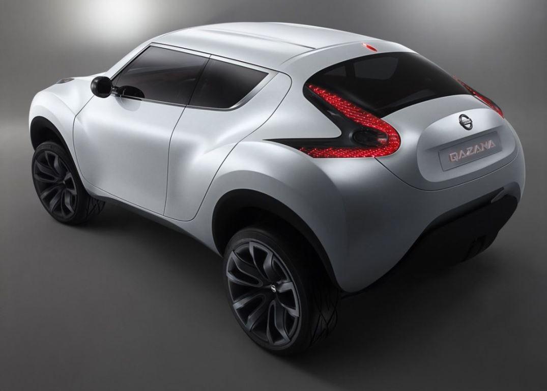 Концепт Nissan Qazana 2009 года