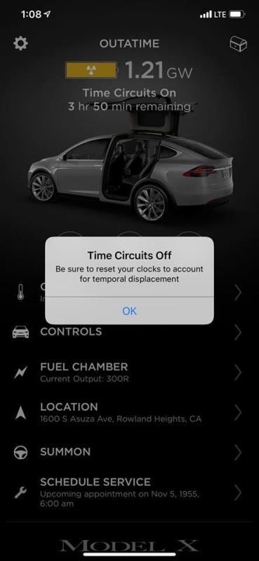 """""""Пасхальное яйцо"""" в Tesla Model X"""
