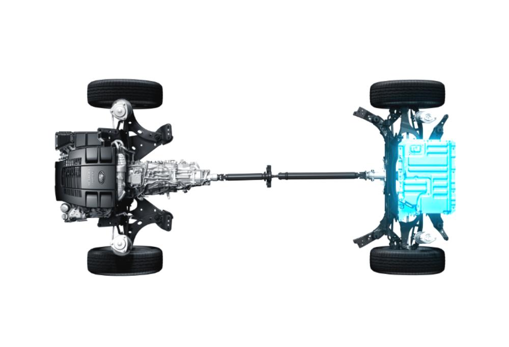 Платформа электрокаров Subaru