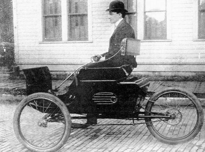 Трехколесный автомобиль The Runabout, 1897