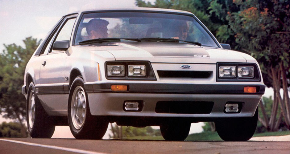 1983-86 Ford Mustang 5.0