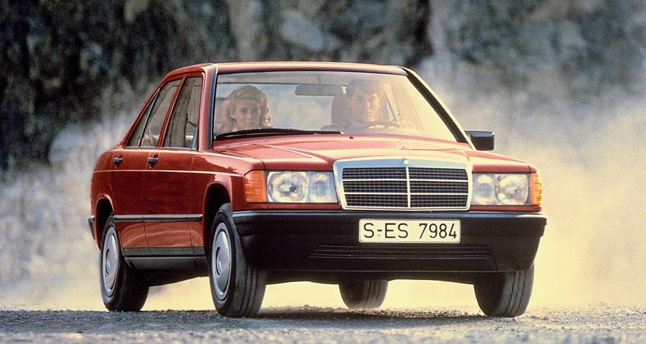 1984-93 Mercedes-Benz 190