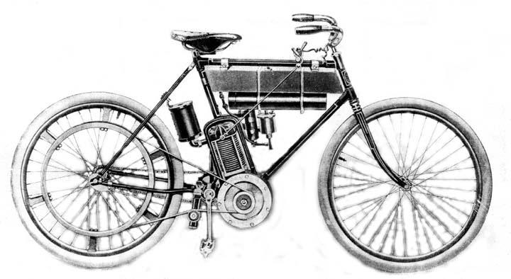 Мотоцикл Holley, 1901