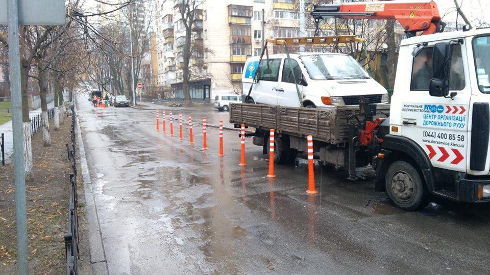 Припаркованные с нарушение ПДД автомобили были эвакуированы на штрафплощадку