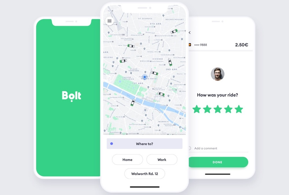 Taxify сменила название на Bolt