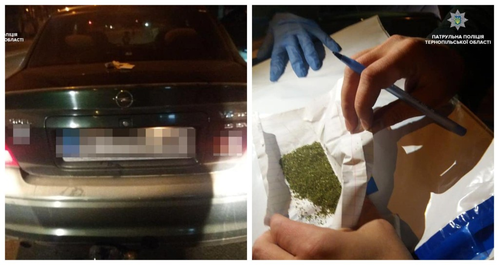 Водитель Opel Vectra находился в состоянии наркотического опьянения