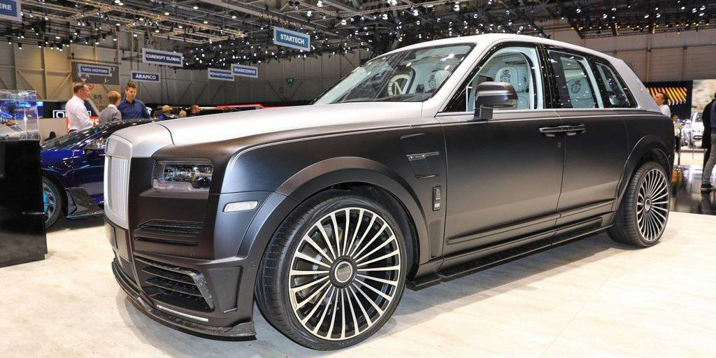 "Mansory Rolls-Royce Cullinan ""Billionaire"""