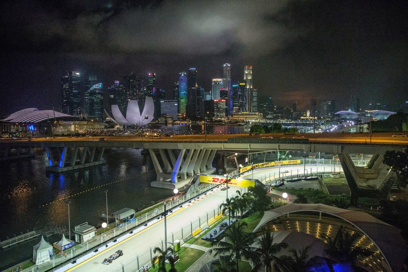 Марина Бей, Сингапур