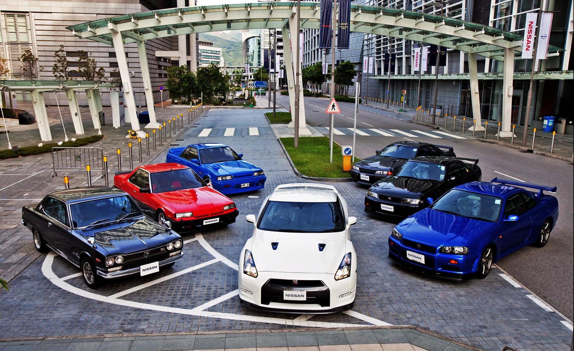 Семья Nissan GT-R