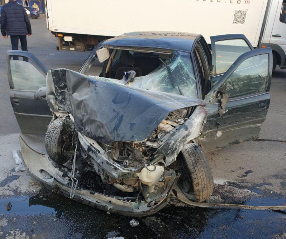 Водителя автомобиля Opel задержали в порядке ст. 208 Уголовно-процессуального кодекса Украины