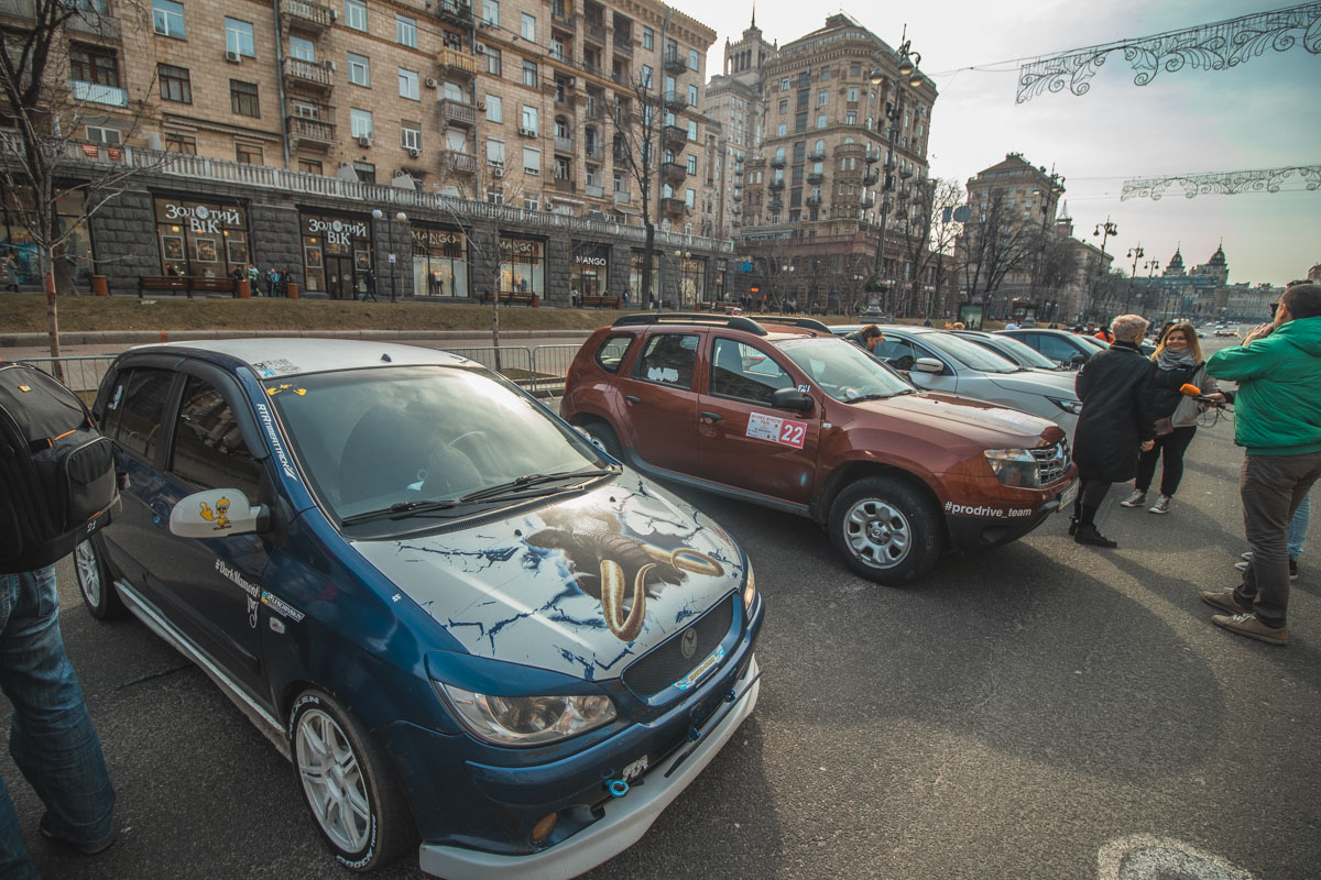 Каждый автомобиль был уникален по-своему