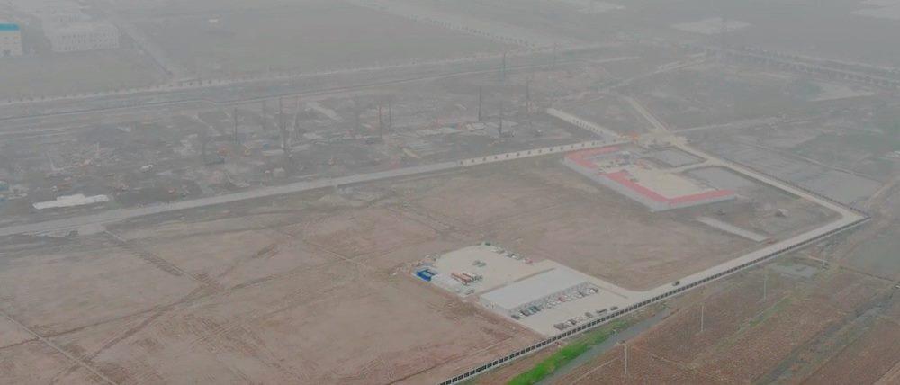Tesla Gigafactory в Шанхае