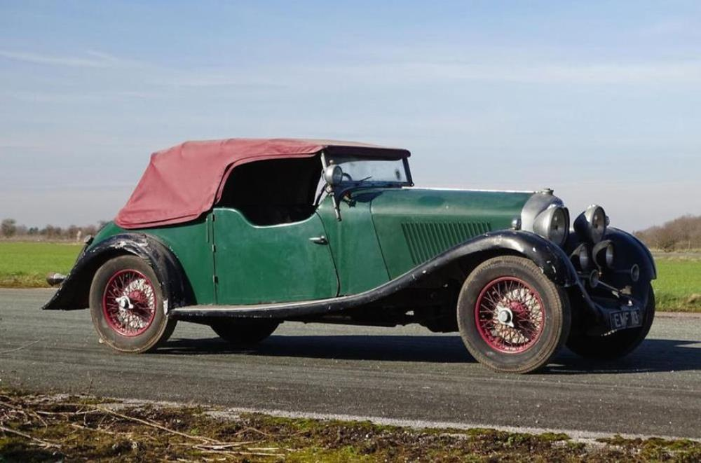 Bentley  4 ½-Litre 1936