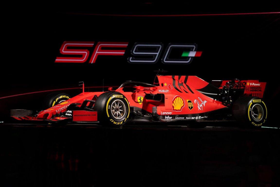 Ferrari SF90 для Мика Шумахера