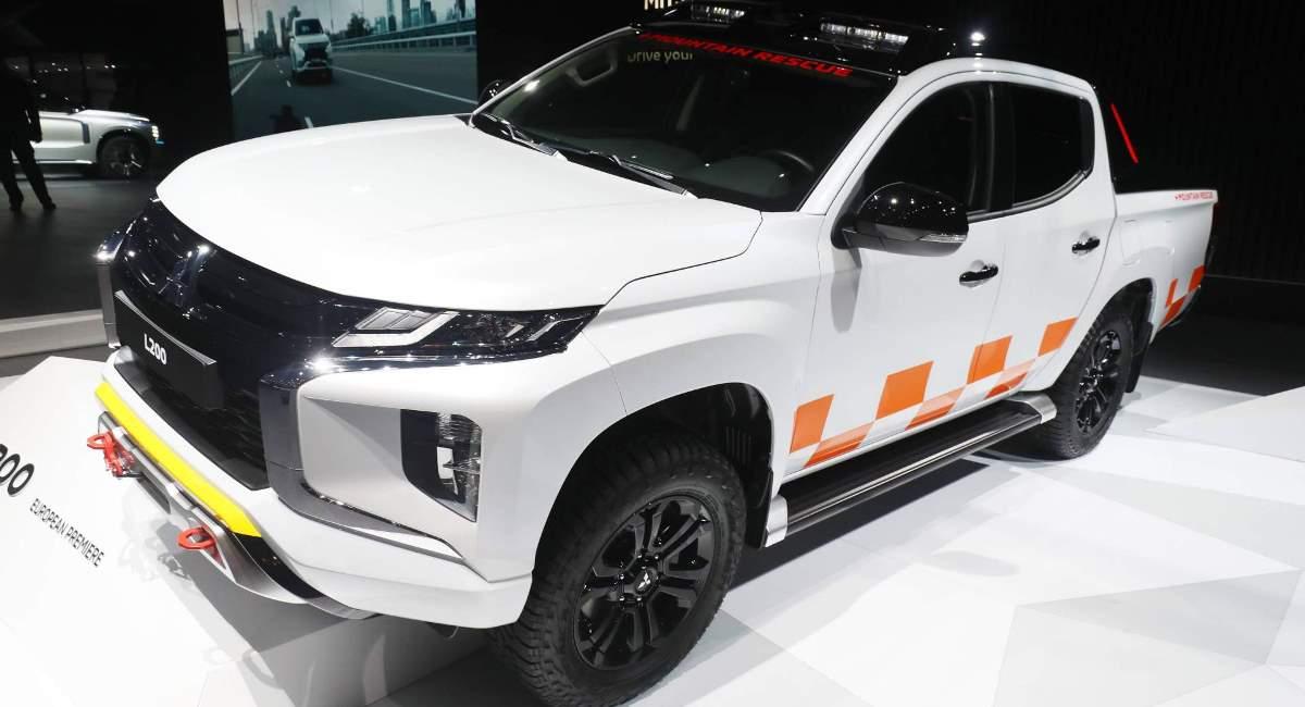 Новый Mitsubishi L200 2019