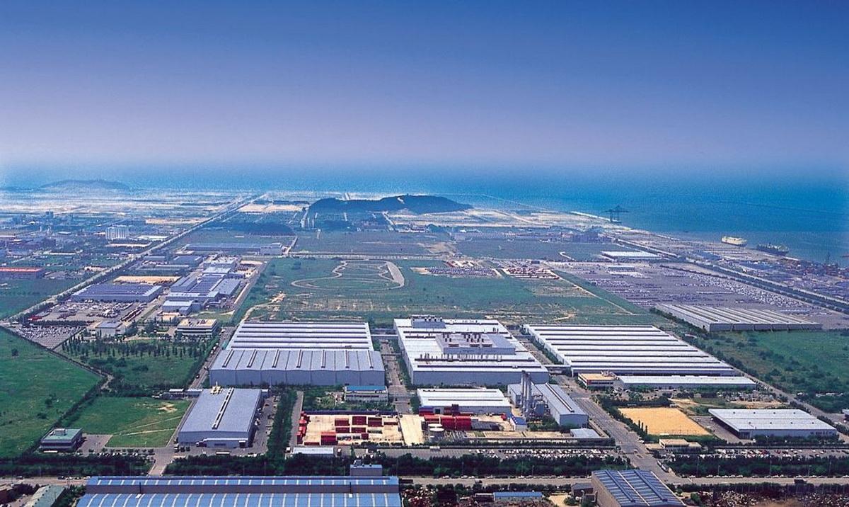 Завод General Motors в Корее