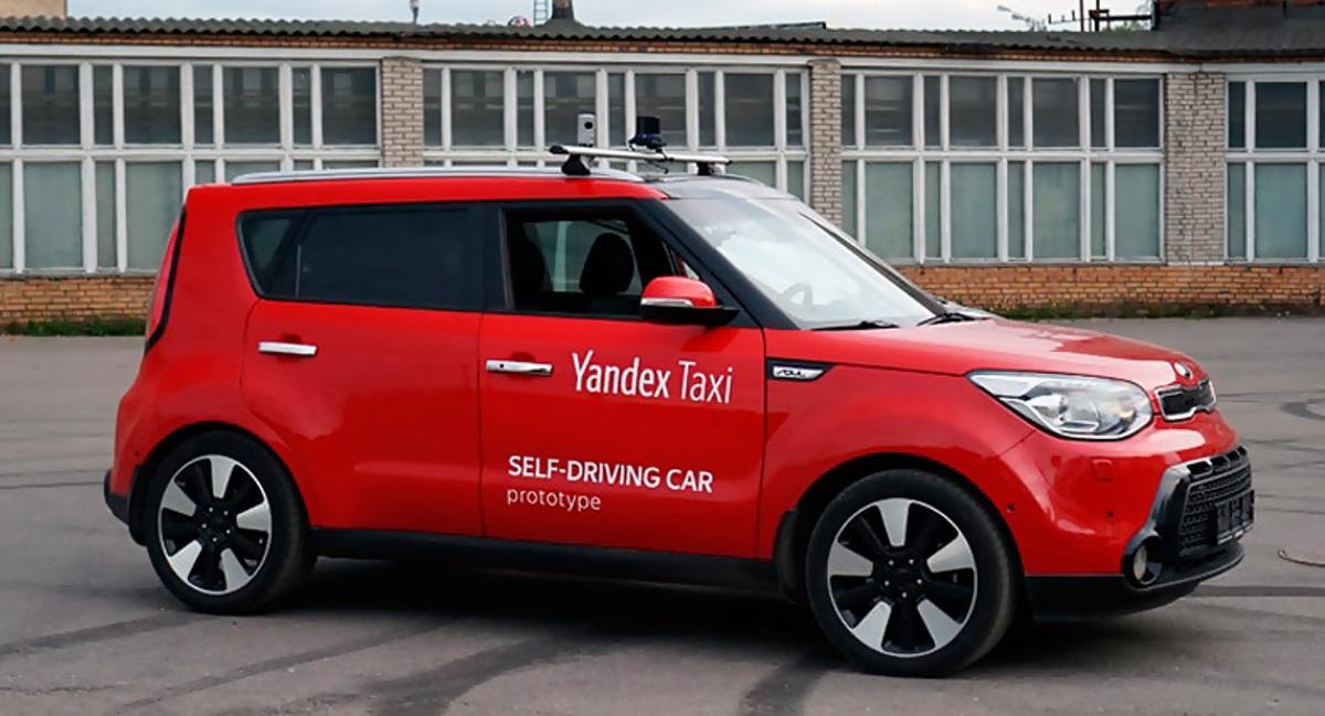 Kia с автопилотом от Яндекс