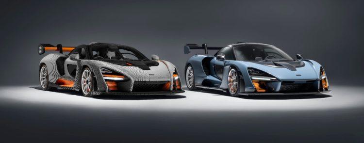 McLaren из lego