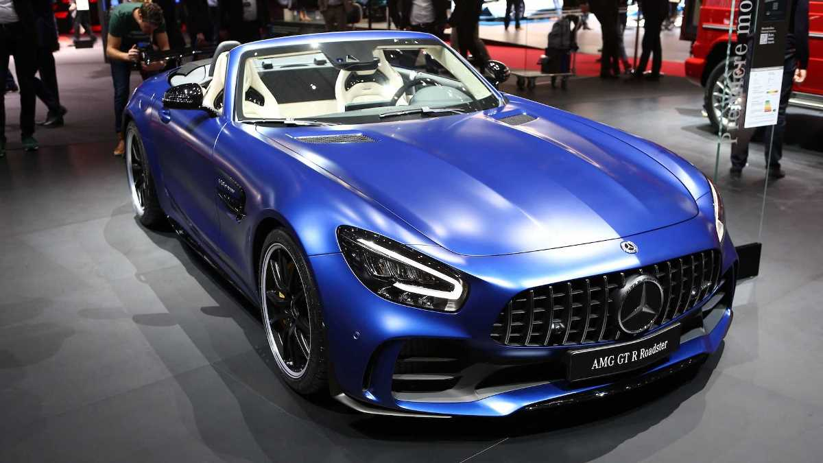 Mercedes-Benz GT R Roadster