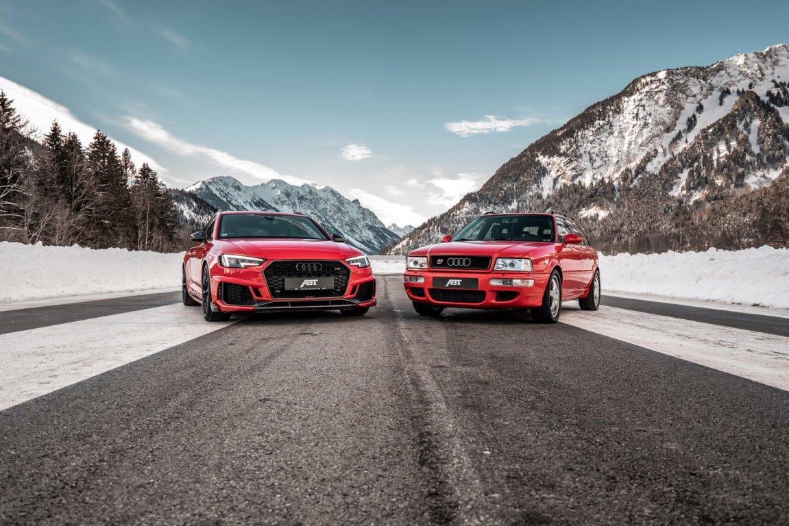 Audi RS4 и Audi RS2 в тюнинге ABT