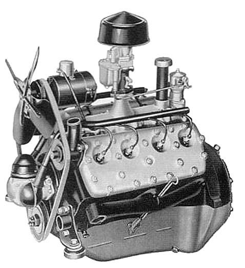 Двигатель Flathead Ford V8