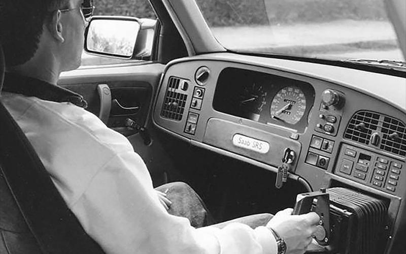 Saab 9000 Joystick