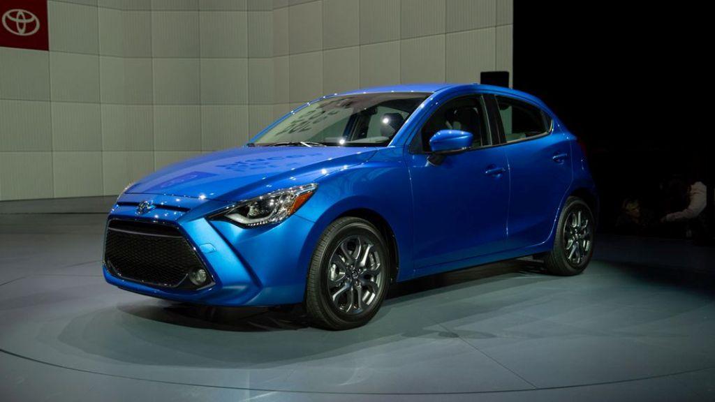 Toyota Yaris 2020 года