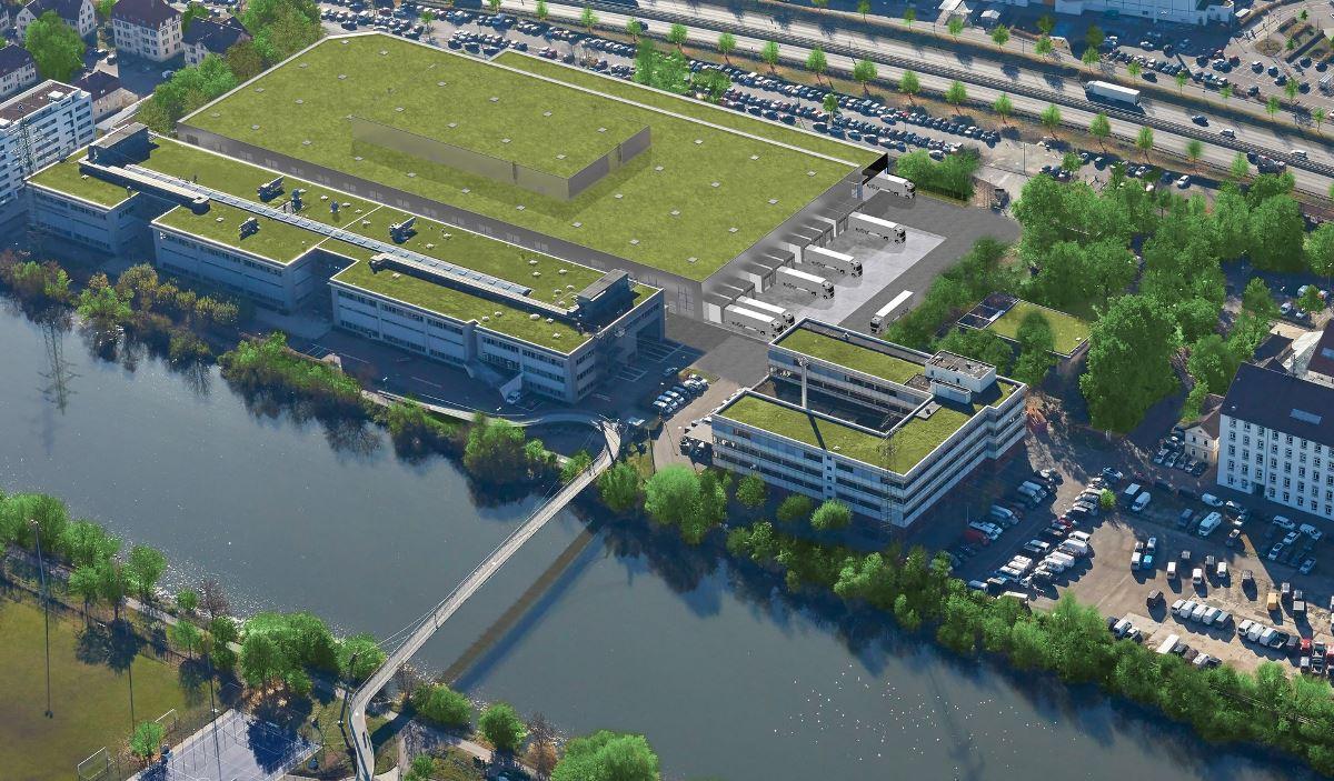 Завод по производству аккумуляторных батарей для Mercedes-Benz