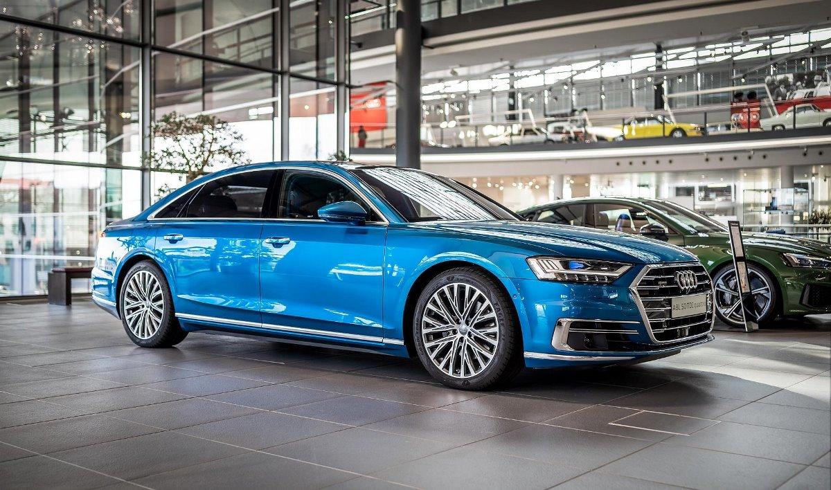 Audi A8l Ara Blue