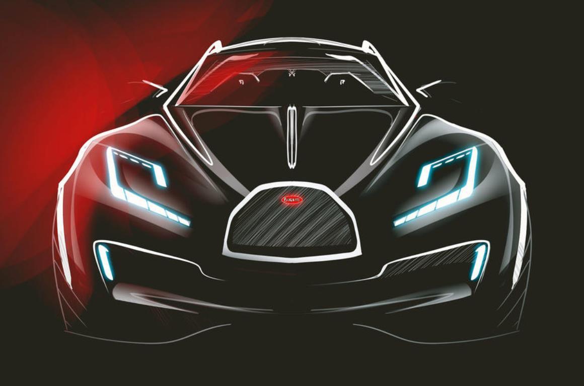 Эскиз Bugatti