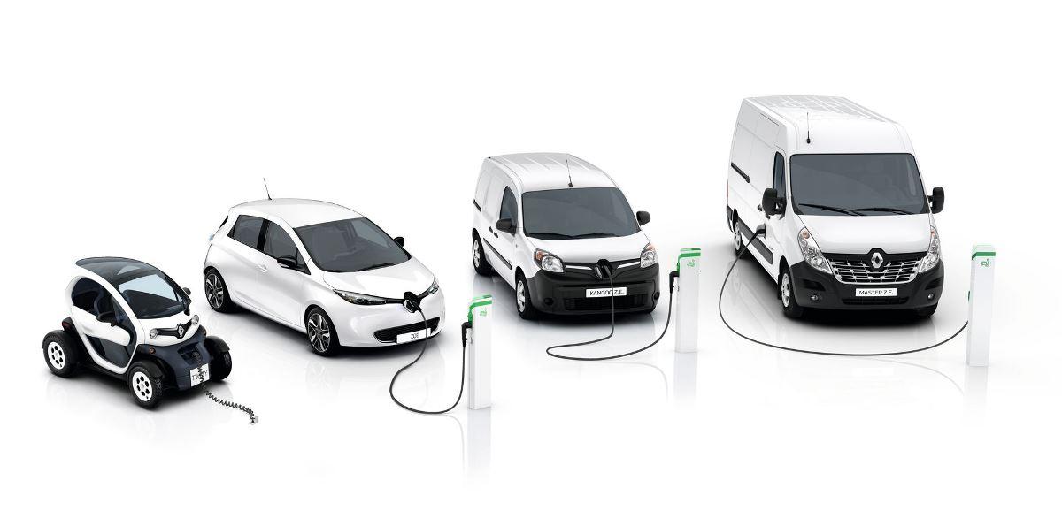 Электрическая линейка Renault