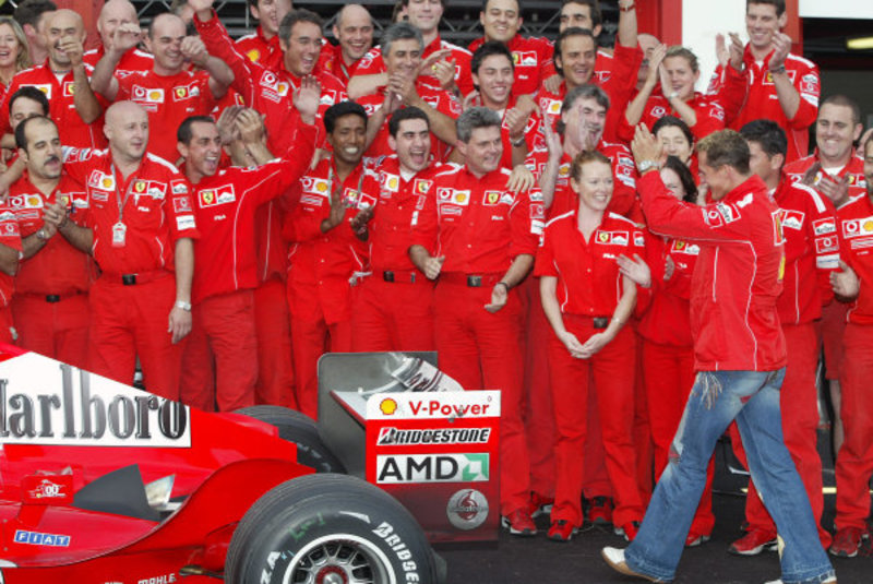 Бельгия 2004 – Михаэль стал семикратным чемпионом в 700-й гонке Ferrari