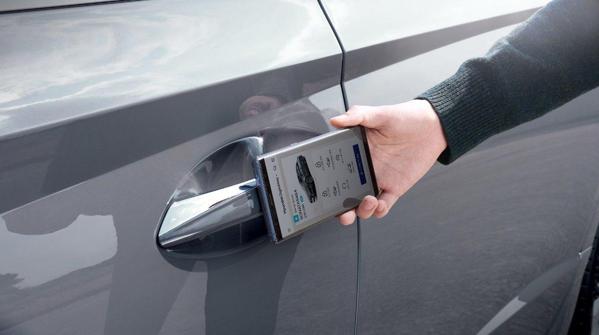 Новый цифровой ключ Sonata