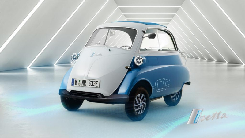 Компания возобновит выпуск трехколесной Isetta