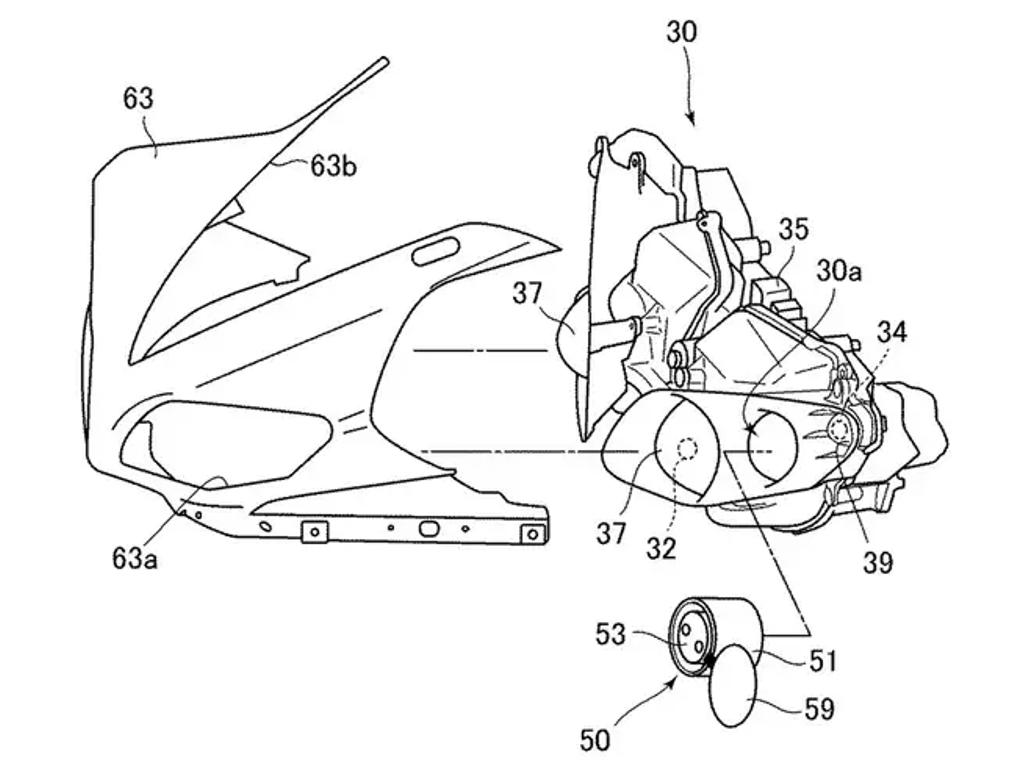 Предполагаемый разъем в фаре на примере Yamaha R1