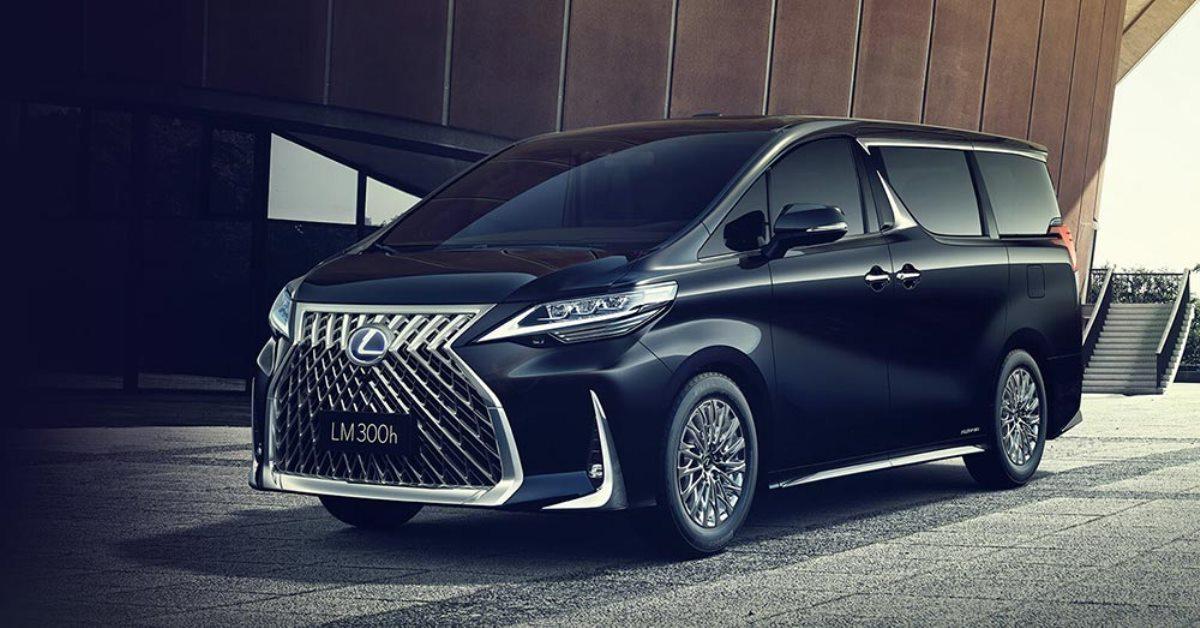 Lexus выпустил первый в истории минивэн