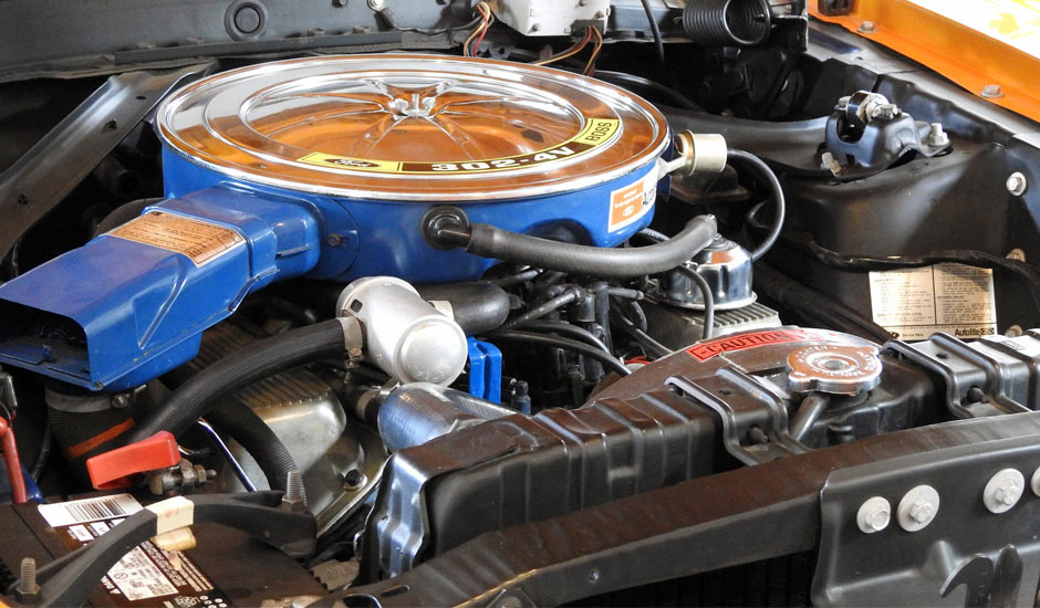 Двигатель Boss 302