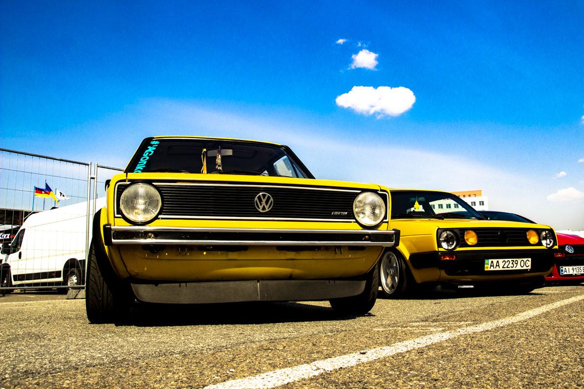 Golf Mk1 и Mk2