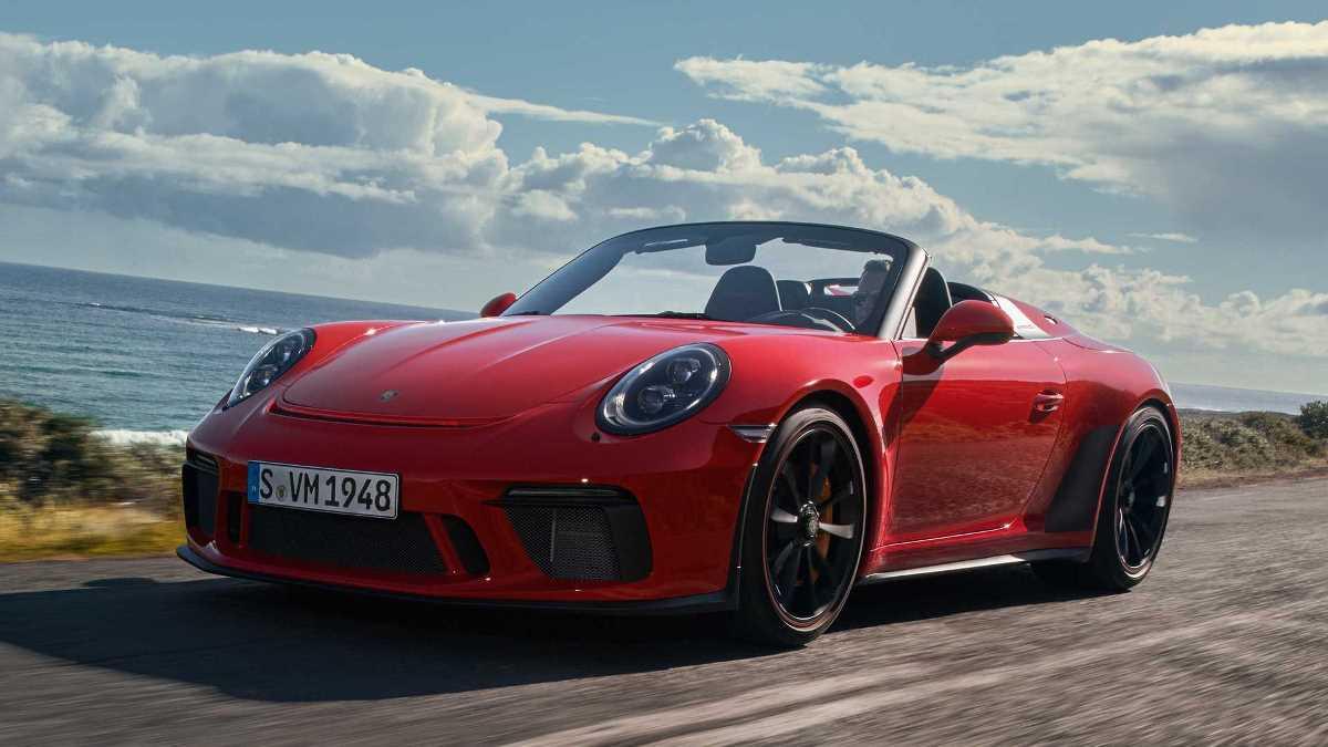 Porsche готов выпустить на конвейер 911 Speedster