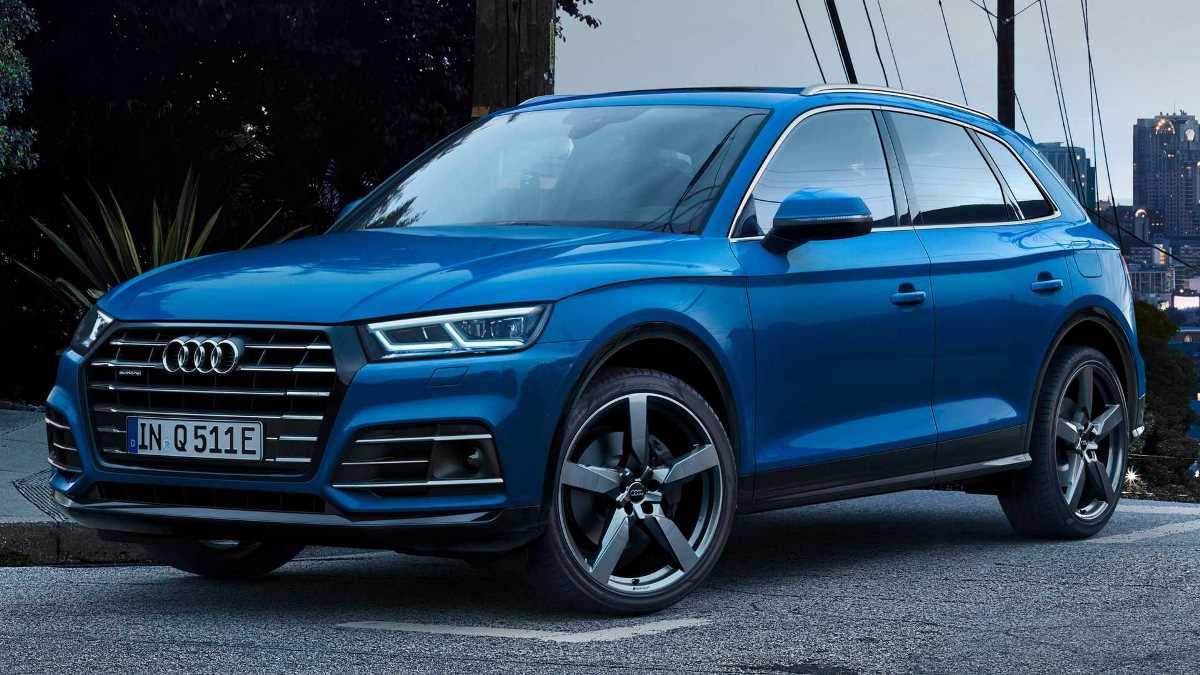 Audi представила Q5 55 TFSI E Quattro