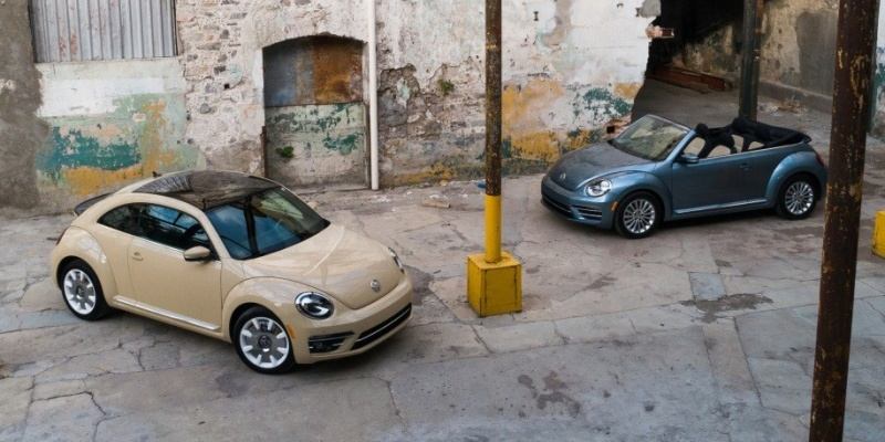 Volkswagen Beetle Final Edition SE и Final Edition SEL