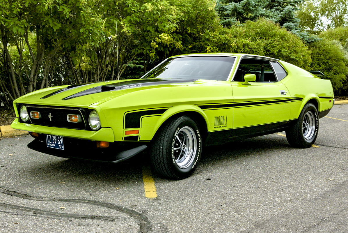 Ford Mustang 1971-1973